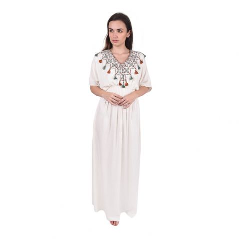 Shruti Sancheti Bone Long Kaftan