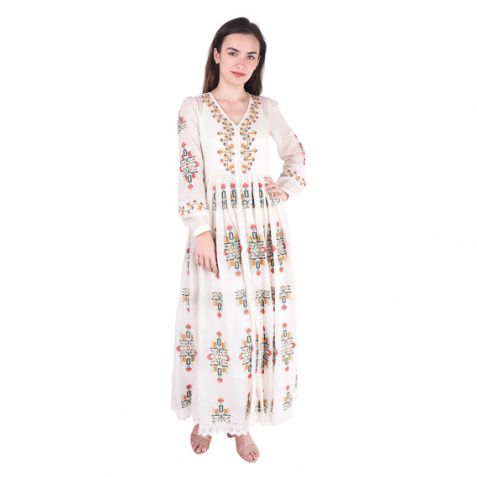 Shruti Sancheti Bone Midi Dress