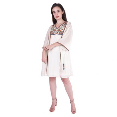 Shruti Sancheti Bone Tunic
